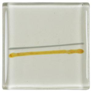 carrelage verre lignes ambre gris