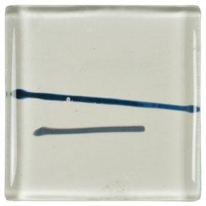 carrelage verre lignes bleu gris